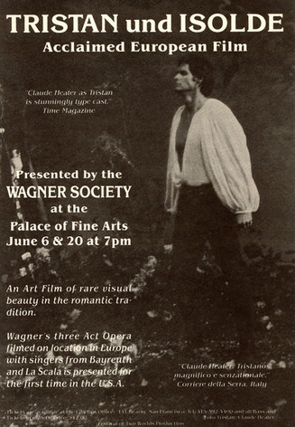 Publicity for Wagner Society