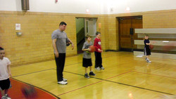 Youth Basketball Practice
