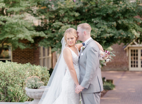 Heather & Caleb | Married at Chatham Station