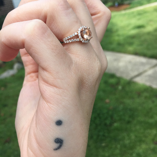 Semi-colon, what it means to me | Personal post