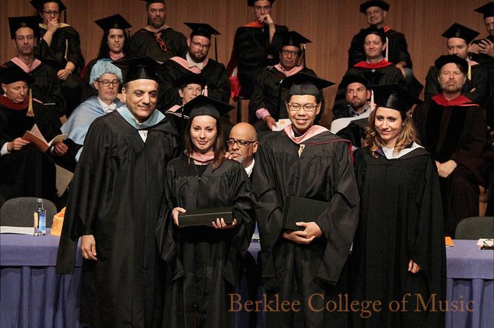 Berklee College of Music - Outstanding Scholar Award