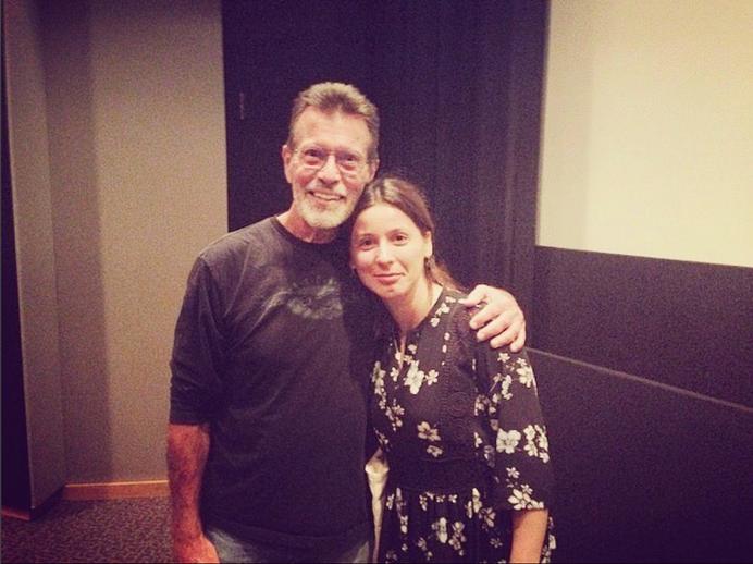 With Richard Bellis
