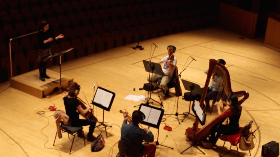 Recording Session at Palau de les Arts Reina Sofia