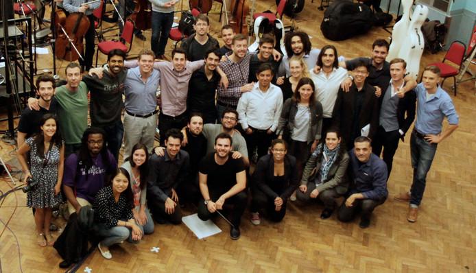 Berklee Film Scoring Students and Professors