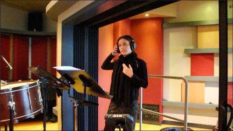 Recording Session at Berklee College of Music Valencia Campus