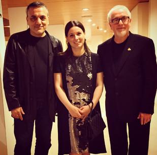 with Lucio Godoy & Patrick doyle