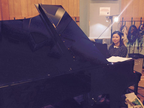 Recording Session at Abbey Road Studios 2015