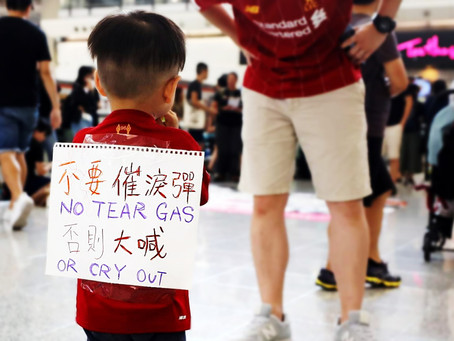 Hong Kong Protests: How To Treat Children When They Come In Contact With Tear Gas.