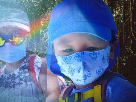 Life during the Covid-19 Pandemic: How did we convince my small child to wear a face mask?