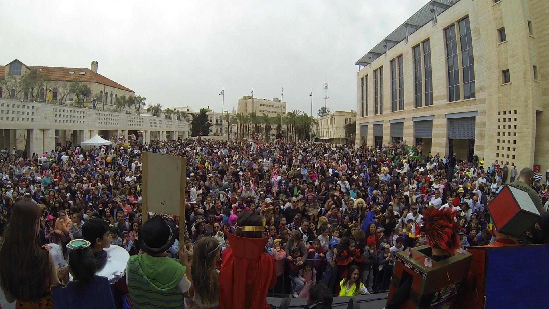 Purim 2014 in Jerusalem