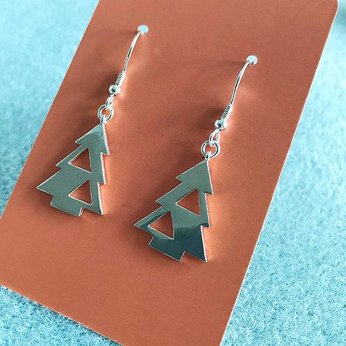 Earrings - Xmas Tree