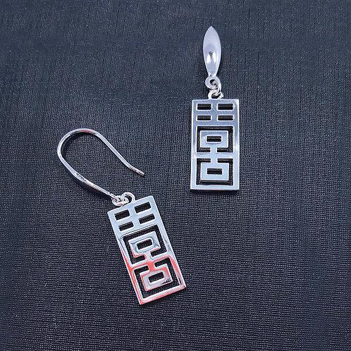 XI earrings (hooks)