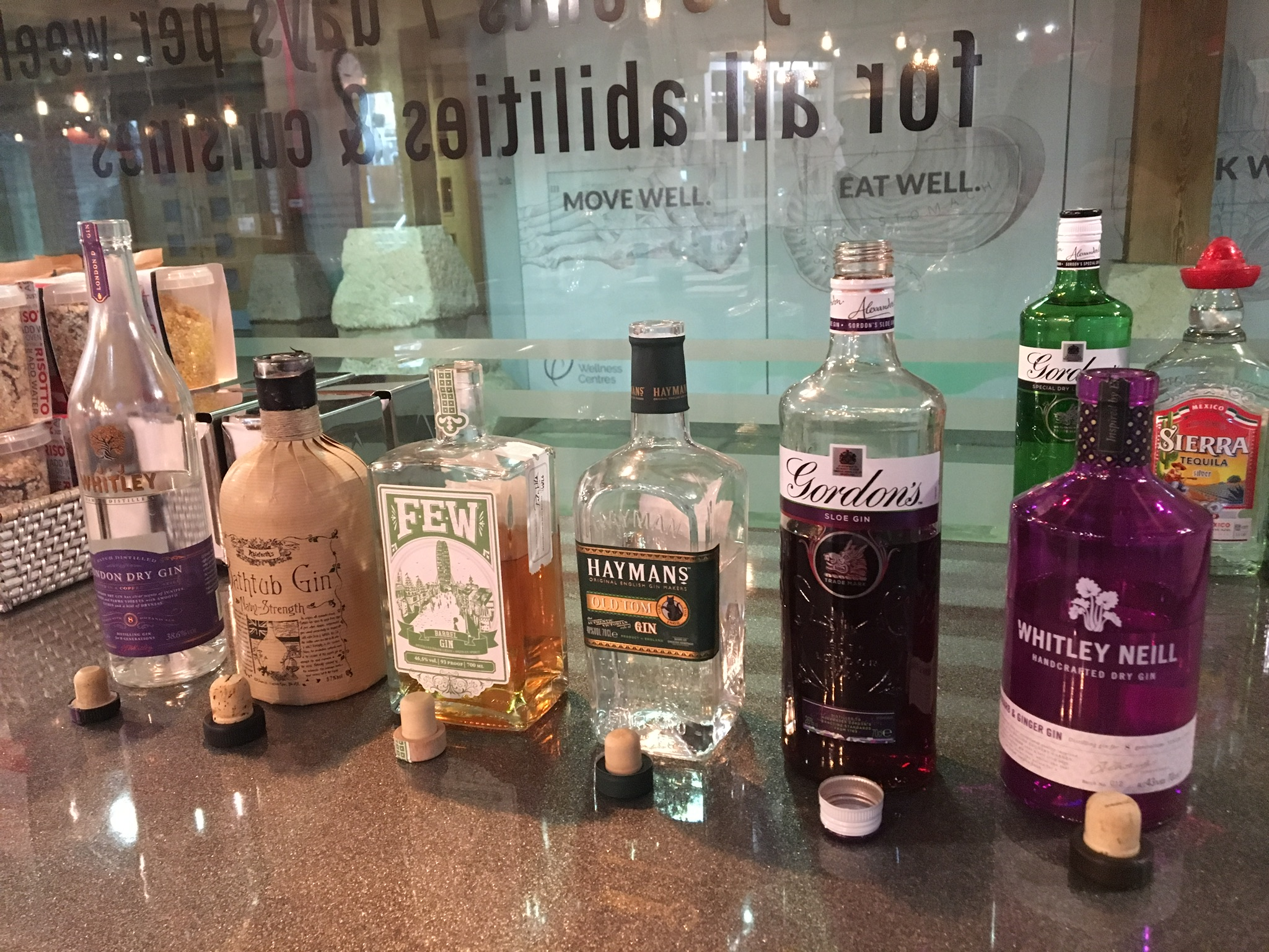The Gin Tasting Experience January 2018