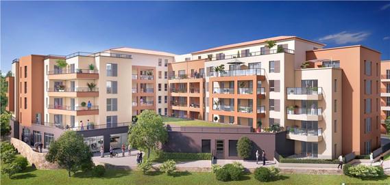Terra Nova - 12040 m² - 215 Logements - Drap - Sagec