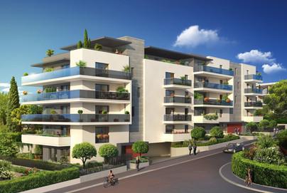 Grey Pearl - 1900 m² - 38 Logements - Cagnes sur Mer - Sagec