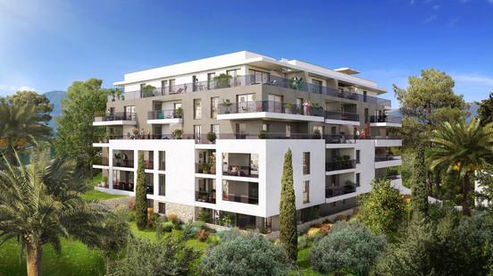Parc Bel Azur - 4700 m² - 82 Logements - Antibes - Sagec