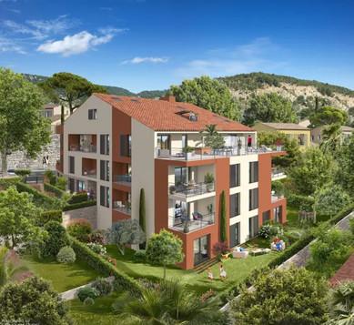 Villa Cinque - 1074 m² - 19 Logements - La Turbie - Azur Réalisation