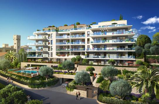Baie Horizon - 3050 m² - 49 Logements - Nice - Sagec