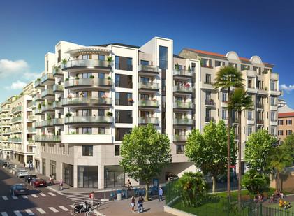 Signature - 3240 m² - 51 Logements - Nice - Sagec