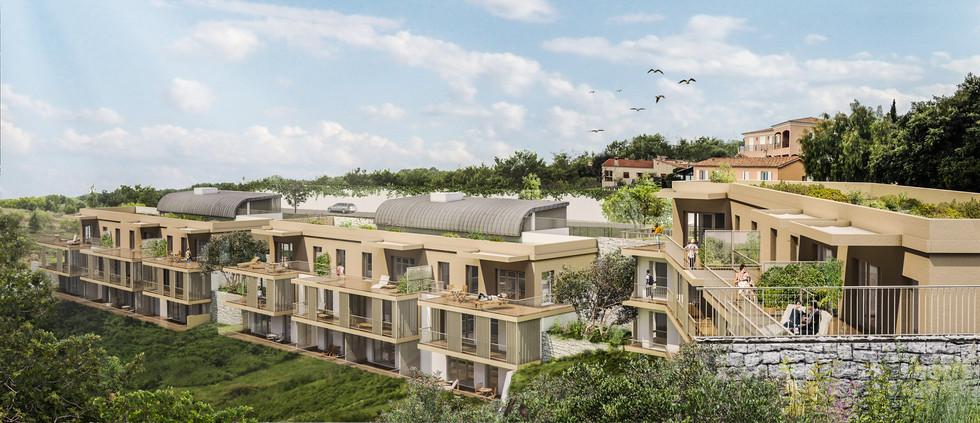 Les Terrasses - 1930 m² - 33 Logements - Les Nouveaux Constructeurs