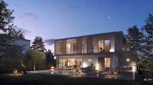 Coeur St Georges - 8950 m² - 19 Villas 60 Logements - La Roquette sur Siagne - Sagec