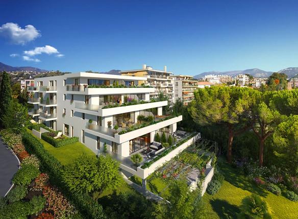Cap Elégance - 1450 m² - 24 Logements - Nice - Edouard Denis Promotion