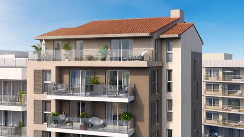 Nova Dolce - 1140 m² - 23 Logements - Nice - Kaufman & Broad