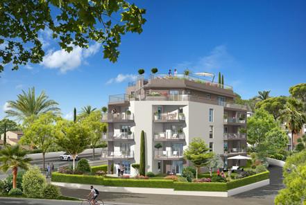 Les Terrasses Marine - 900 m² - 16 Logements - Antibes - Azur Réalisation