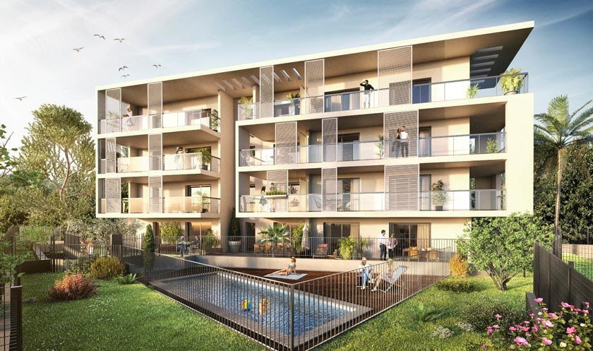 Bay View - 1350 m² - 27 Logements - Nice - Bouygues Immobilier