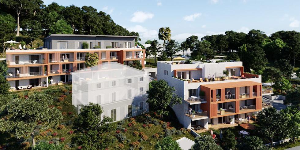 Azur & Sens - 2300 m² - 43 Logements - Nice - Riviera Réalisation
