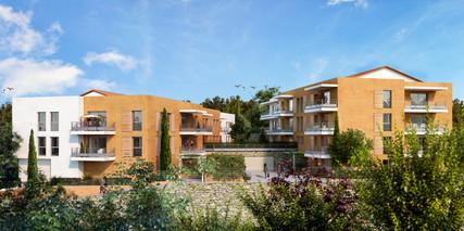 Les Hauts de Moulin de Brun - 2500 m² - 41 Logements - Grasse - Argo