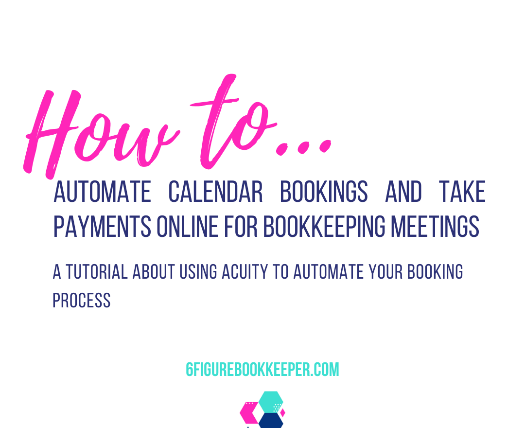 How to automate calendar bookings and take payments online for bookkeeping meetings