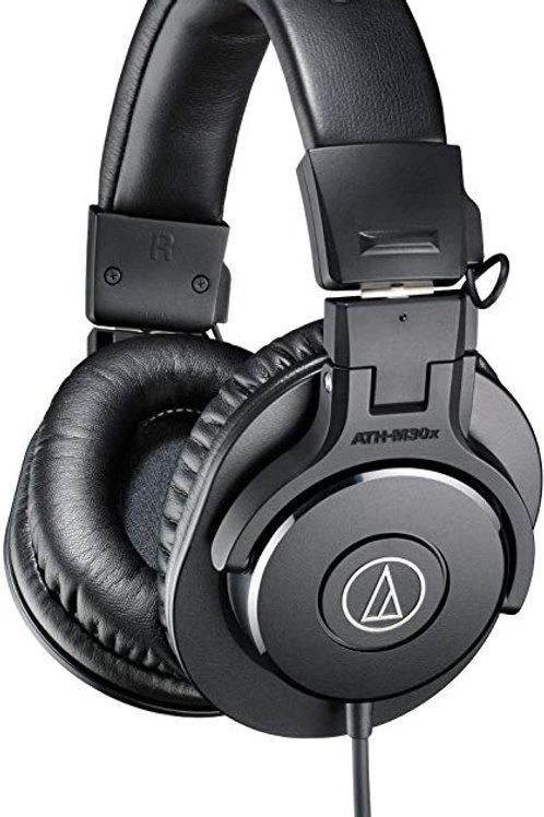 Audio Technica ATH-M30X Professional Studio Monitor Headphones
