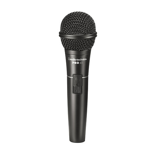 Audio-Technica PRO41 Cardioid Dynamic Handheld Microphone with Switch