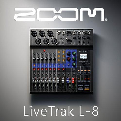 Zoom LiveTrak L-8 8-Channel Digital Mixer / Recorder