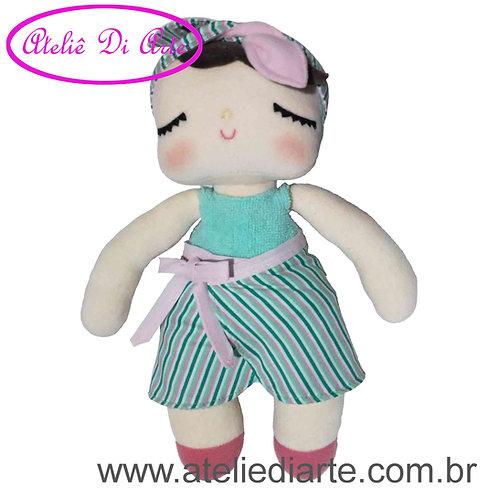 Boneca artesanal tipo Metoo Doll Angela Swimming Pool