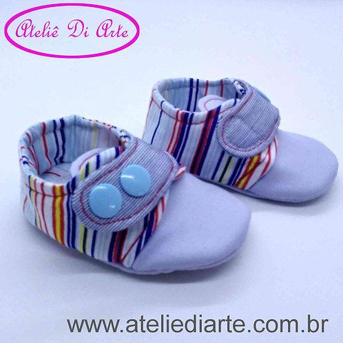 Sapatinho de bebê masculino várias cores