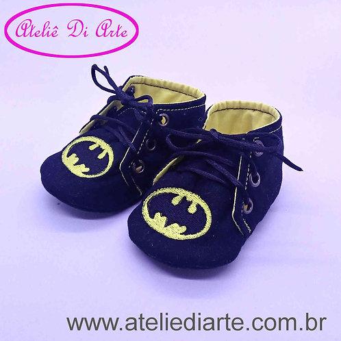 Tenis de bebe masculino Batman