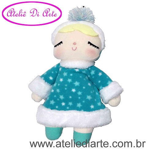 Boneca artesanal tipo Metoo Doll Winter