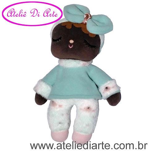 Boneca artesanal tipo Metoo Doll Negra Sweet Dreams tifany