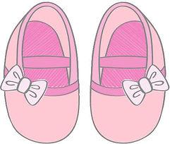 Calçados infantis feminios