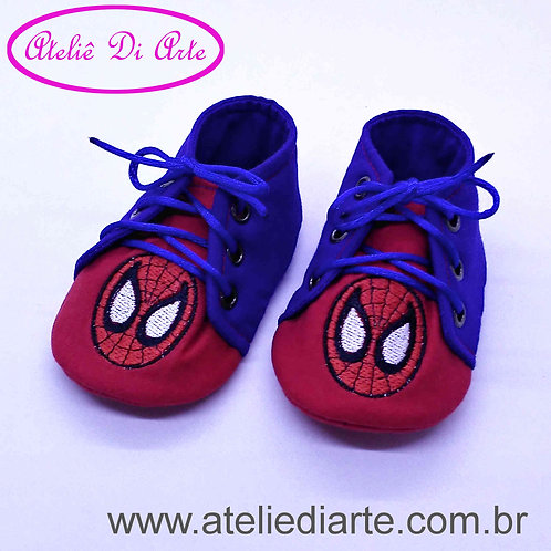 Tênis de bebê masculino Homem Aranha