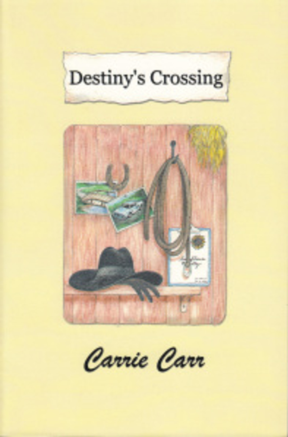 First edition of Destiny's Crossing.