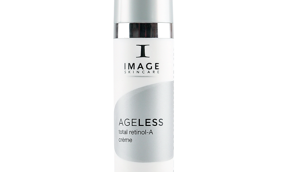 Image Ageless Total Retinol-A Crème is a highly concentrated blend of retinol and polypeptides