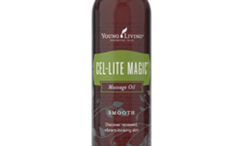 Cel-Lite Magic tones and nourishes the skin with pure vegetable oils, vitamin E, and authentic essential oils