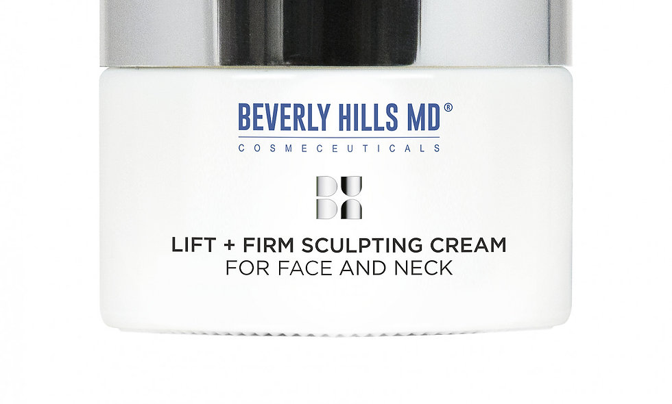 This exclusive Beverly Hills MD Lift + Firm Sculpting Cream gives skin a lifted, tightened, more youthful appearance