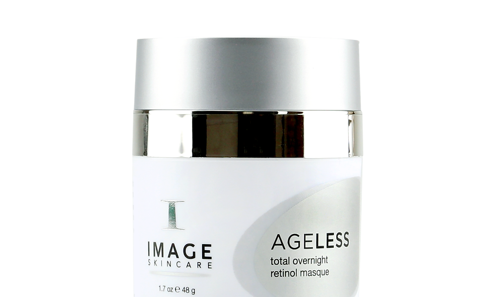 AGELESS total overnight retinol masque transforms skin's appearance while you sleep