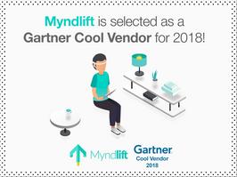 Myndlift is a Gartner Cool Vendor for 2018!