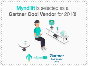Myndlift is a Gartner Cool Vendor for 2018!