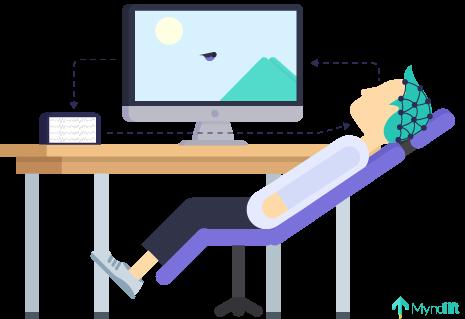 neurofeedback while relaxing
